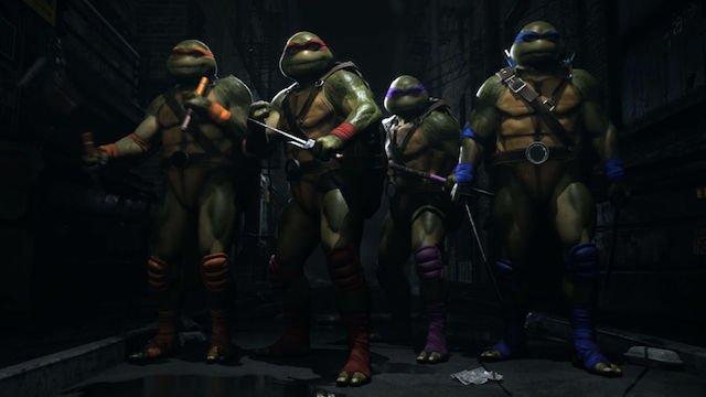 Teenage Mutant Ninja Turtles in Injustice 2 Fighter Pack 3