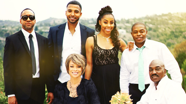 The Preacher's Son - Jaleel White, Christian Keyes, Valarie Pettiford, Brittany Perry-Russell, Kareem J. Grimes and Clifton Powell