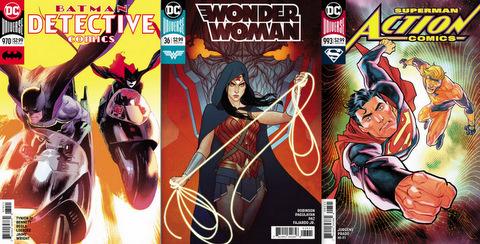 DC Comics reviews 12/13/17