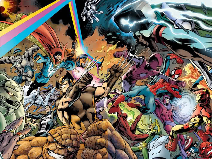 Marvel Comics Acts of Vengeance