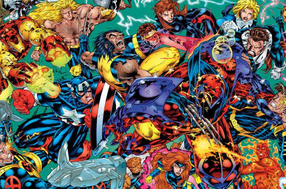 Marvel Comics Onslaught
