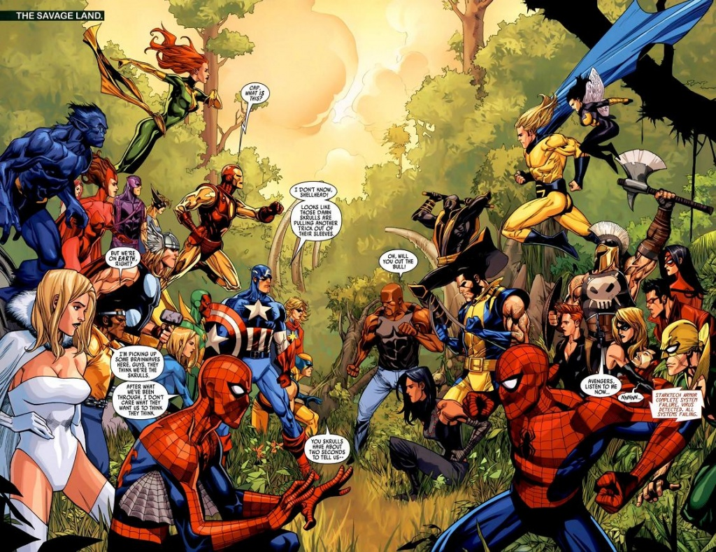 Marvel Secret Invasion