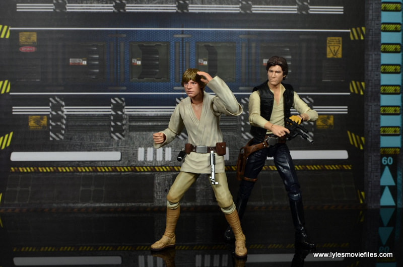 SH Figuarts Luke Skywalker figure review -feeling the Force alongside Han Solo