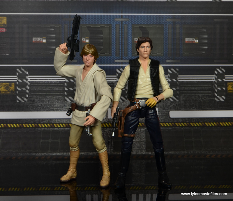 SH Figuarts Luke Skywalker figure review -with Hasbro Han Solo
