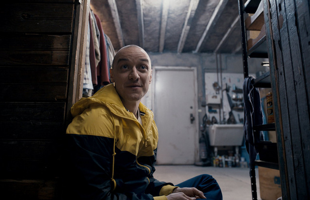 Split movie review - James McAvoy