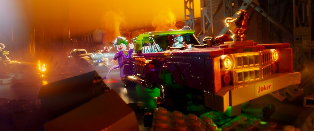 The LEGO Batman Movie - Joker and Harley Quinn