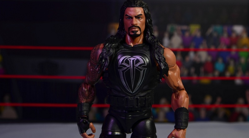 WWE Elite 45 Roman Reigns figure review - main pic