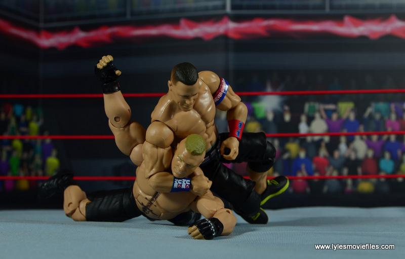WWE Elite 50 John Cena figure review - STF to Brock Lesnar