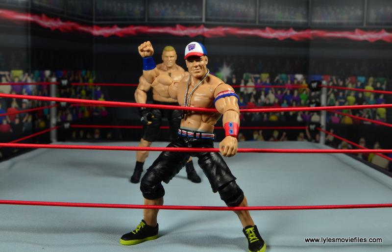 WWE Elite 50 John Cena figure review -ready to fight Lesnar