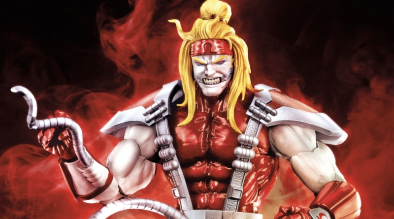 Marvel Legends Deadpool Wave 2 omega red