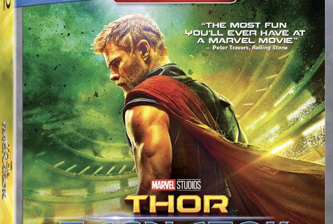 Thor: Ragnarok Blu-Ray cover