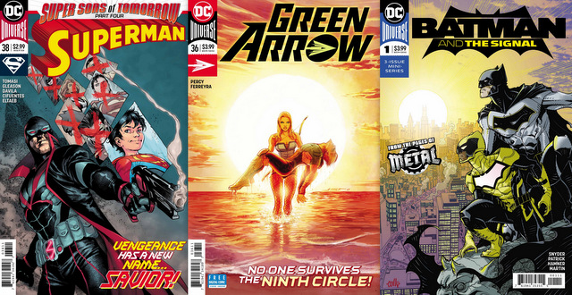dc comics reviews 1/3/18