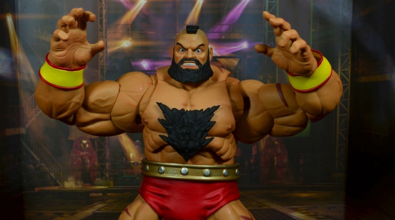 Storm Collectibles Street Fighter V Zangief figure review -main pic