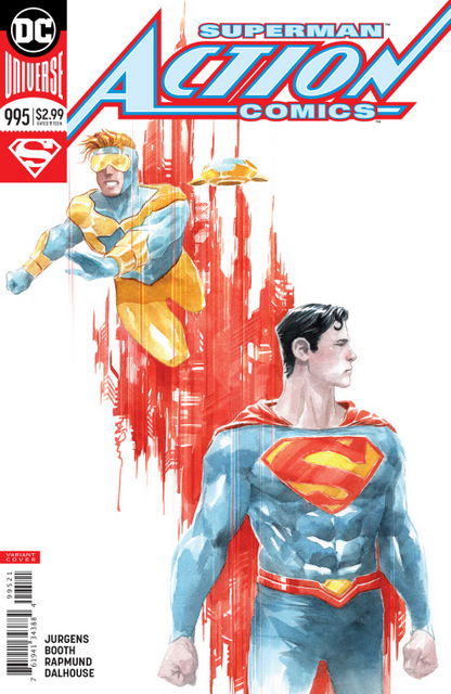 action comics #995 cover