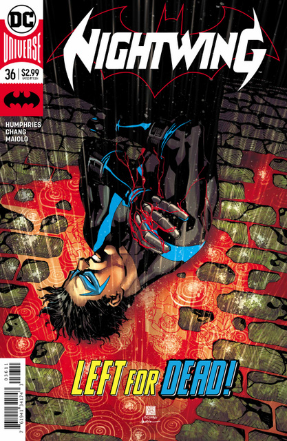nightwing 36 cover