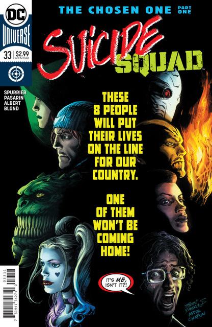 suicide squad #33 cover