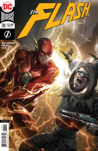 the flash #38 variant cover