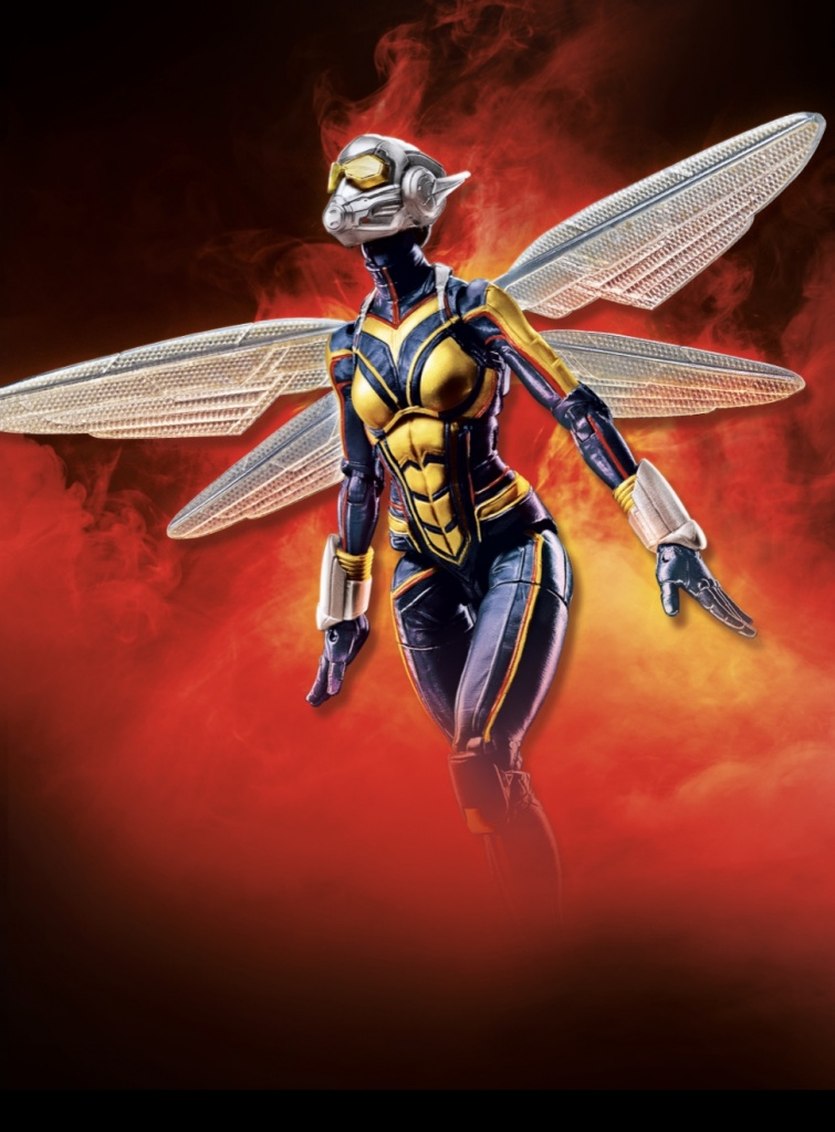 Official marvel legends MCU wasp