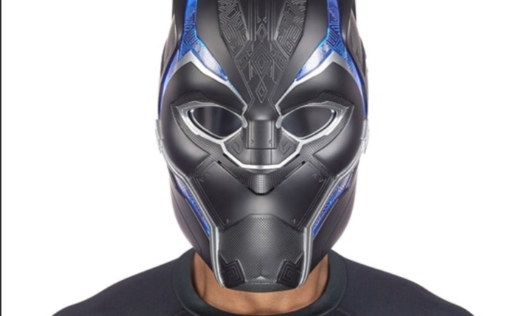 Marvel Legends Black Panther helmet Front