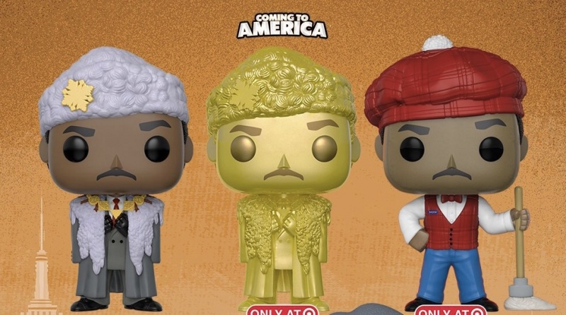 funko pop coming to america akeem variants