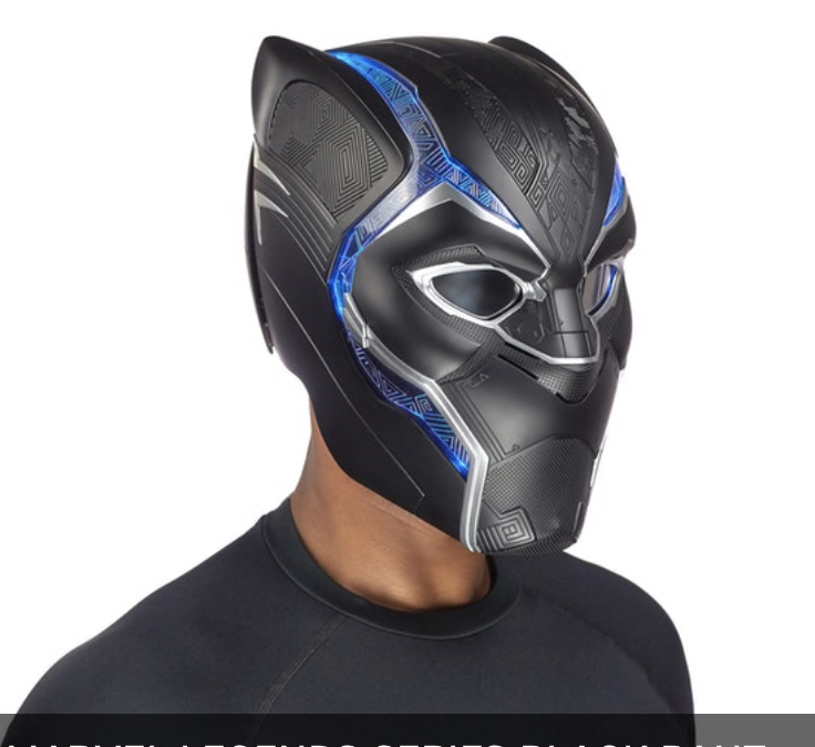 Marvel Legends Black Panther helmet Profile