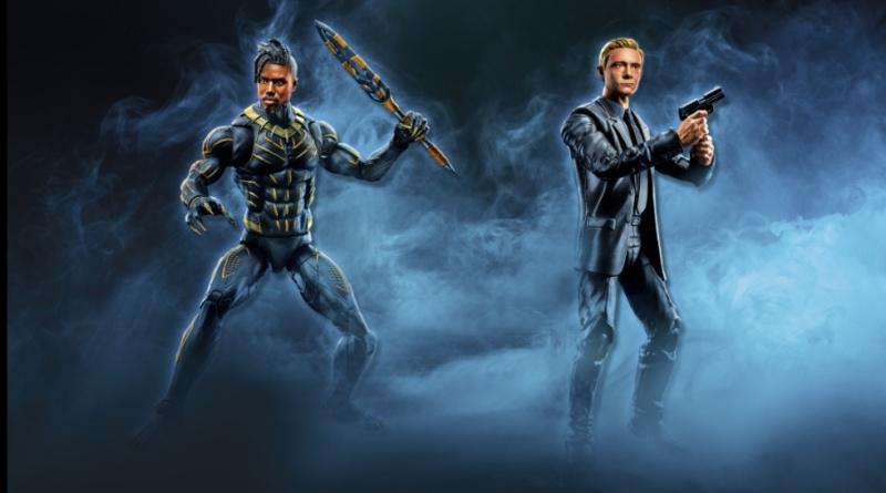 marvel legends killmonger and everett ross