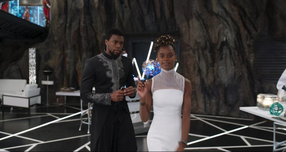 black-panther-movie-review-chadwick-boseman-and-letitia-wright