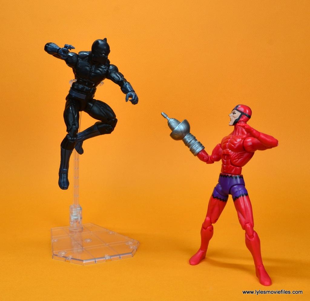 marvel legends black panther figure review - vs klaw