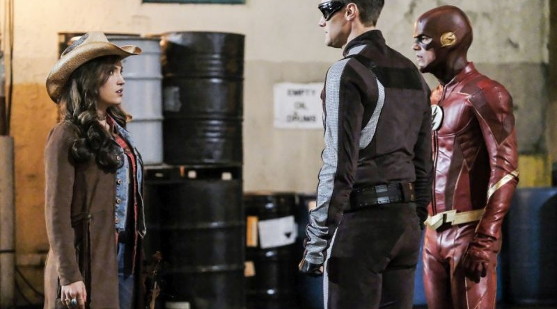 the flash subject 9 review -izzy, elongated man and the flash