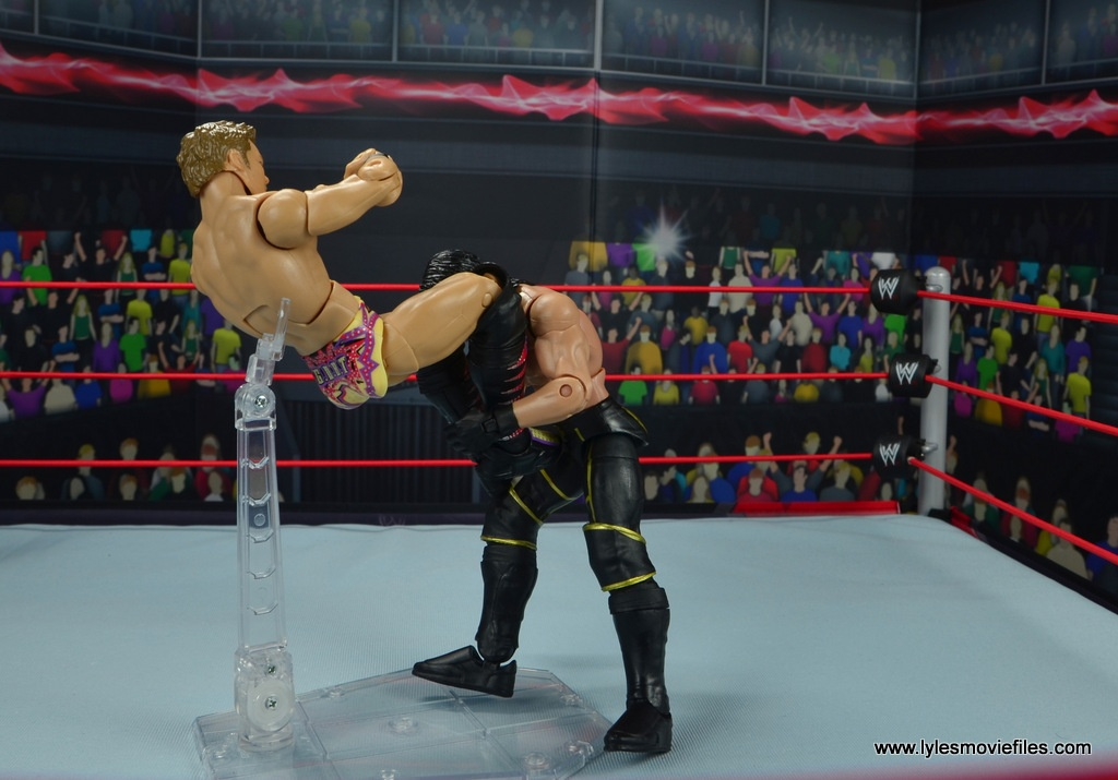 wwe elite chris jericho the list exclusive figue review -code breaker to seth rollins
