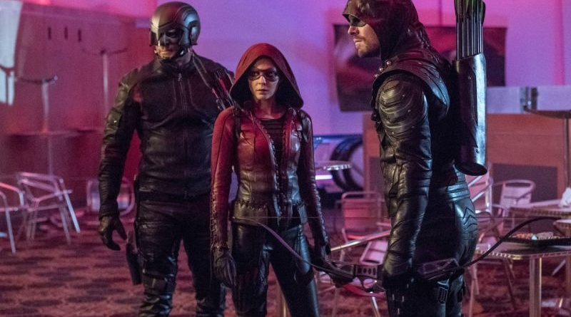 arrow-doppelganger-review spartan, speedy and green arrow