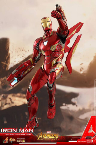 Hot Toys Avengers Infinity War Iron Man Figure up for pre ...