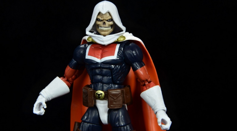 marvel legends taskmaster figure review - main pic