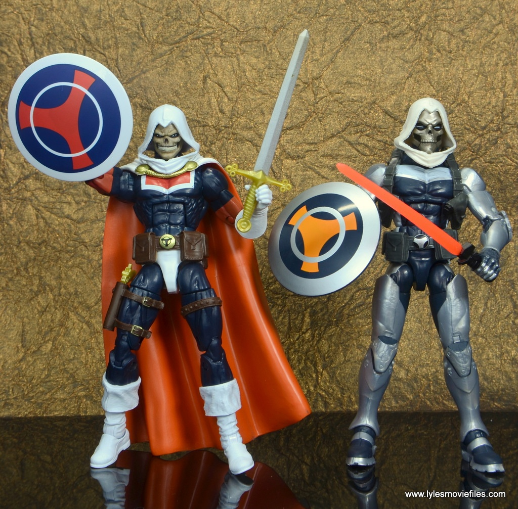 marvel legends taskmaster figure review - with modern taskmaster