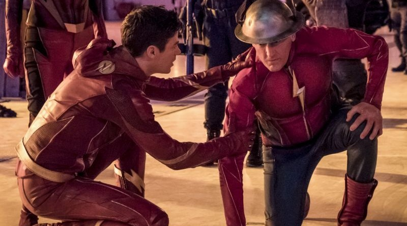 the-flash-enter-flashtime-barry and jay garrick