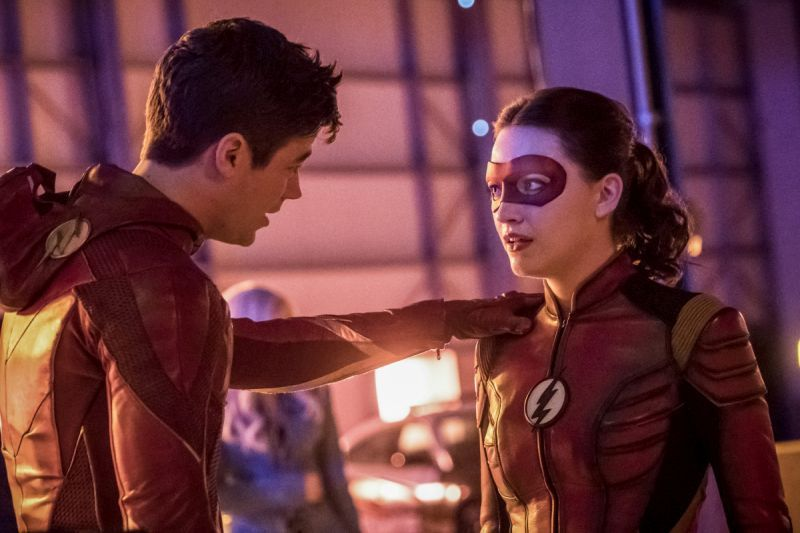 the-flash-enter-flashtime the flash and jesse quick