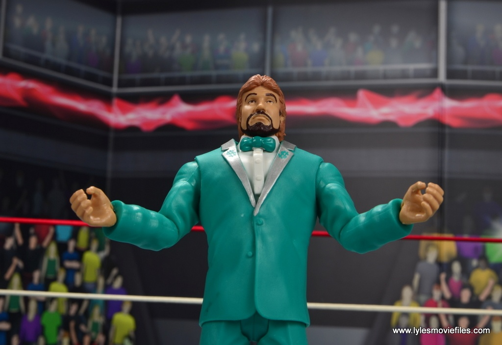 wwe million dollar man figure review -arms out