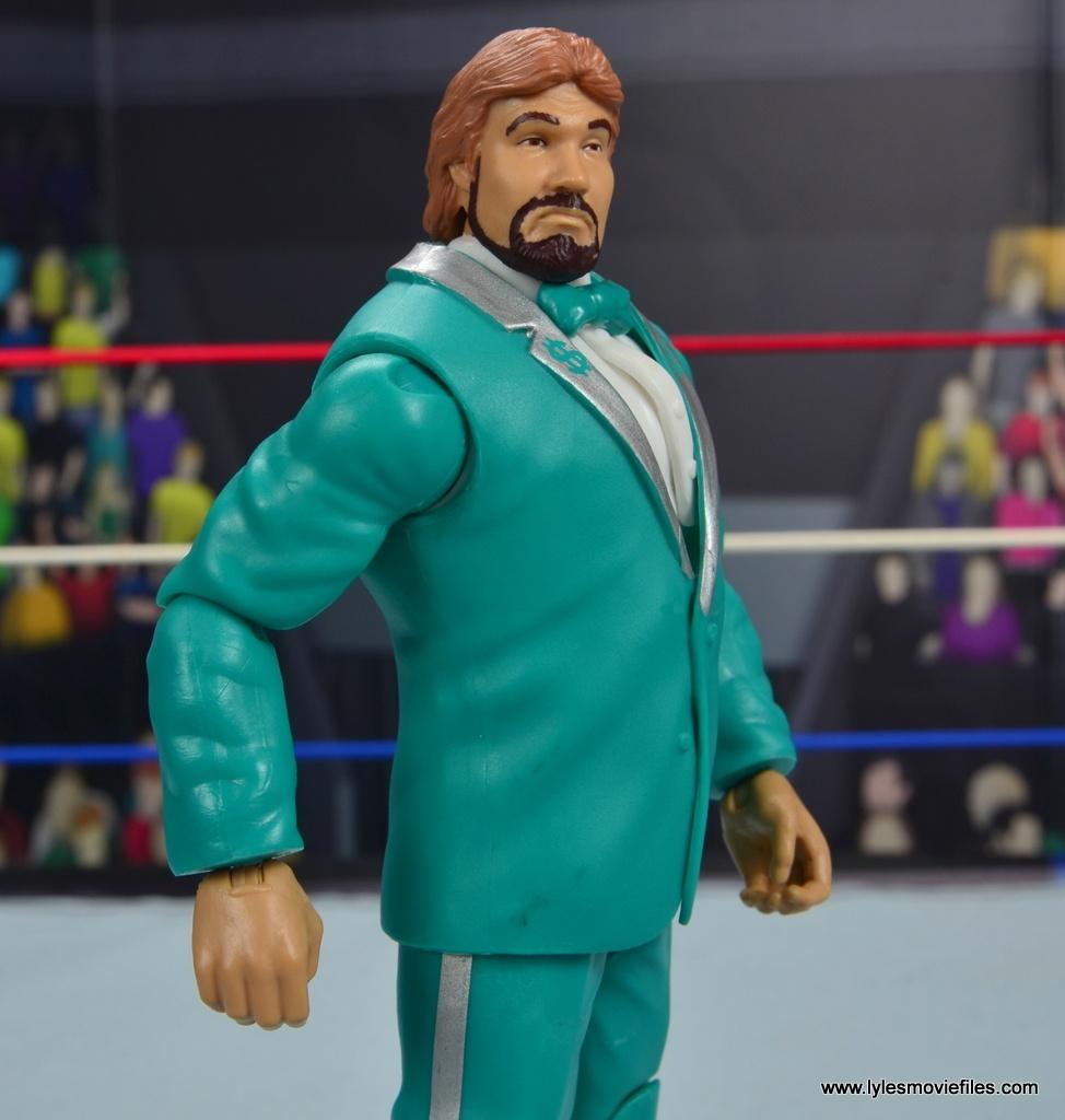 wwe million dollar man figure review -suit detail