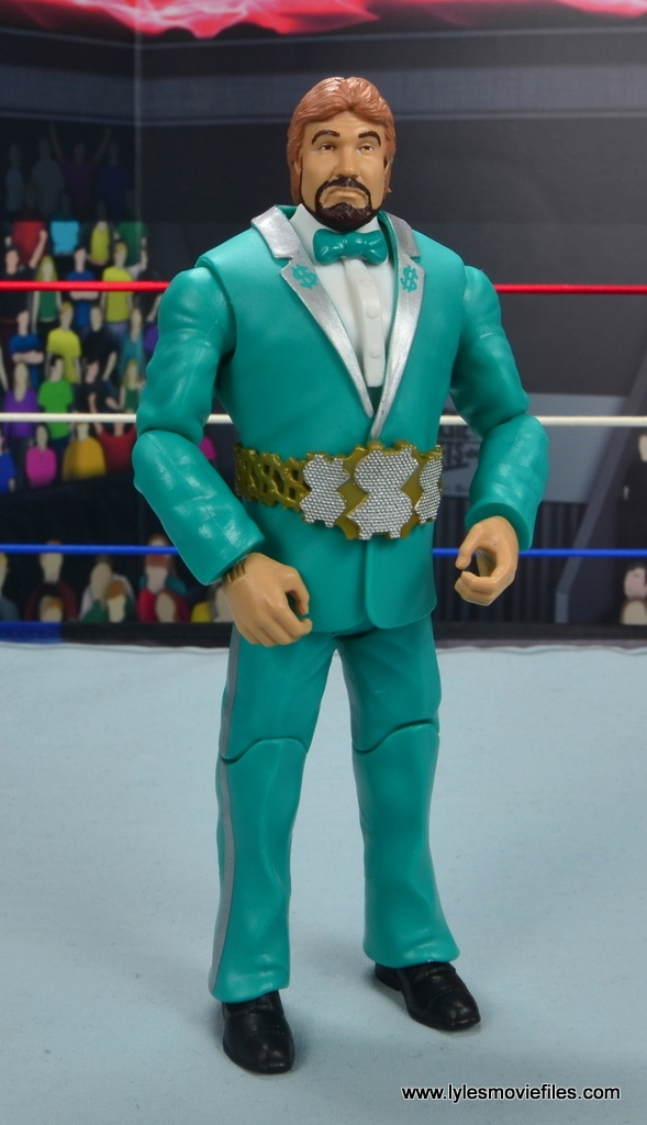 wwe million dollar man figure review -with million dollar belt