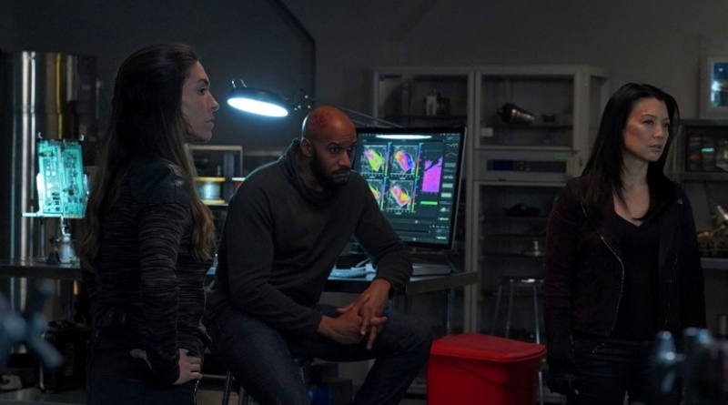 agents of shield all the comforts of home review -elena, mack and may