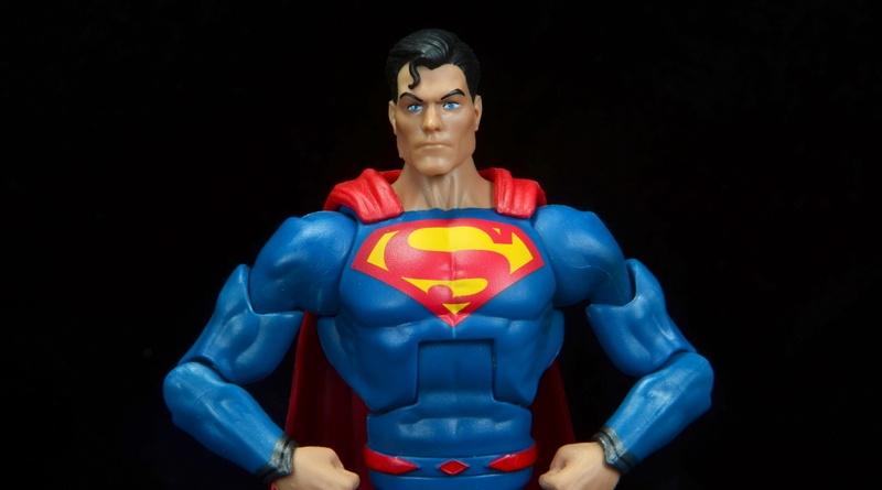 dc multiverse superman rebirth figure review - main pic