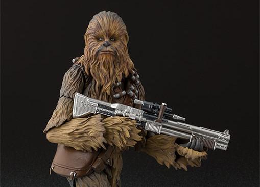 sh figuarts solo chewbacca figure -holding gun - Copy
