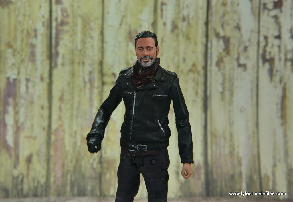 the walking dead negan figure review - wide detail