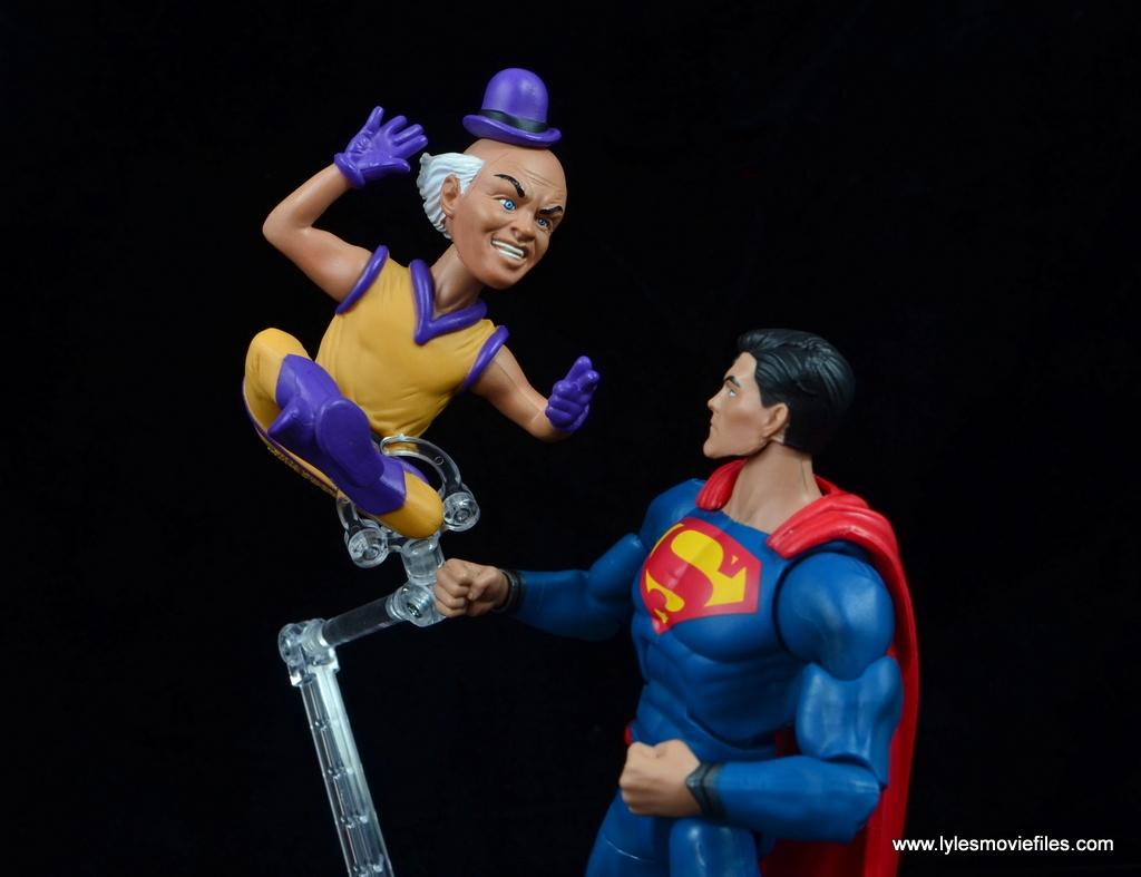 DC Signature Series Mister Mxyzptlk figure review - confronting Superman