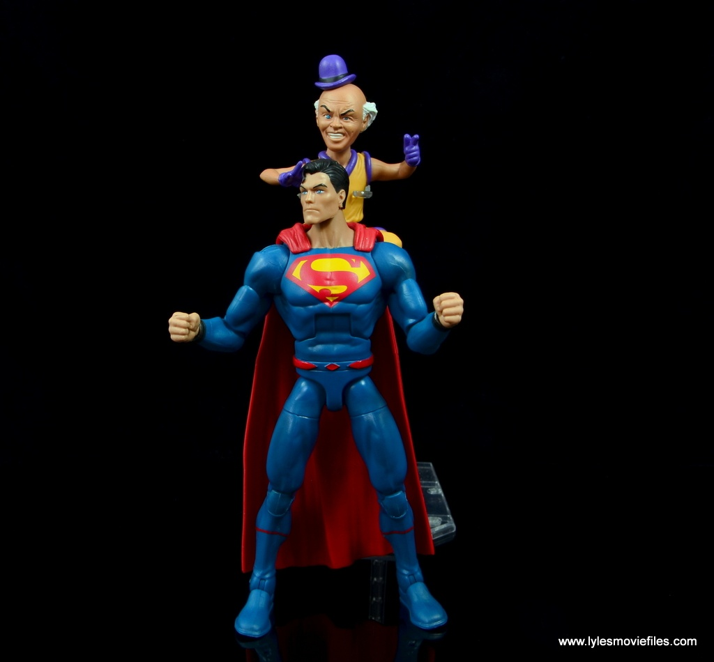 DC Signature Series Mister Mxyzptlk figure review - sneaking up on Rebirth Superman