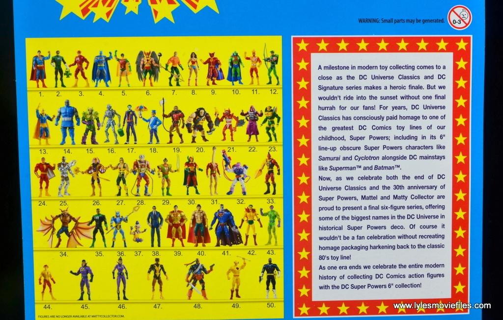 DC Signature Series Mister Mxyzptlk figure review - super powers collection