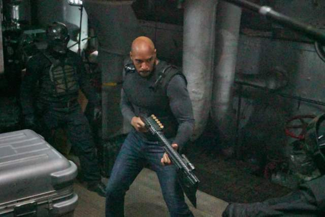 agents of shield principia review - mack fighting