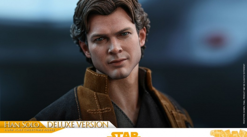 hot toys solo a star wars story han solo figure - main pic