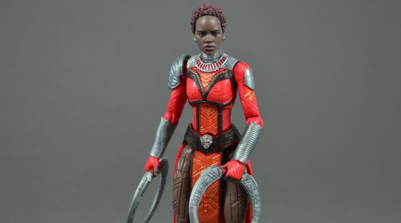 marvel legends nakia figure review - main pic