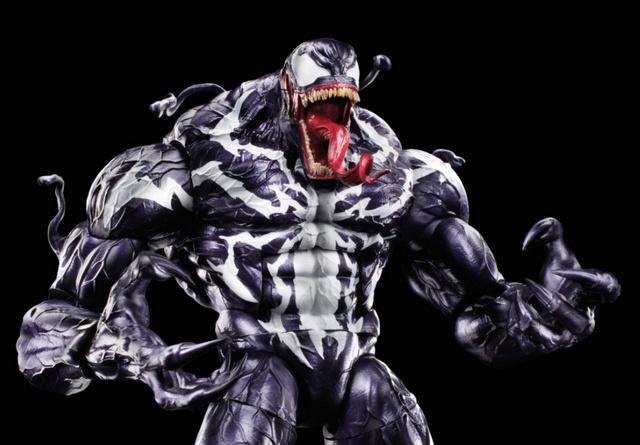 marvel legends venom wave - baf venom